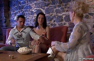 Magnífica bailarina videos gratis de sexo entre familiares ninfómana rubia Ember con grandes tetas